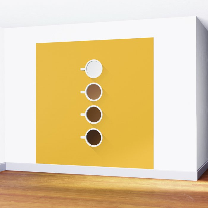 Coffee + Simplicity Wall Mural
