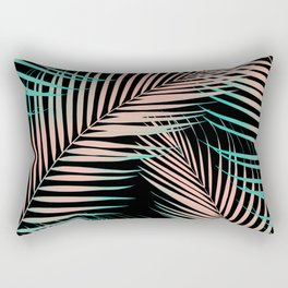 Palm Leaves - Cali Vibes #2 #tropical #decor #art #society6 Rectangular Pillow