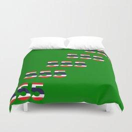 555  Thai flag Duvet Cover