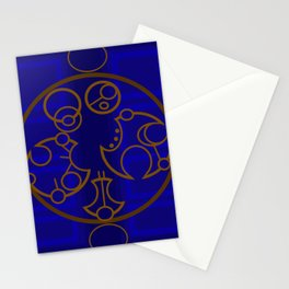 Dr. Who Inspired Art-Piece Stationery Cards