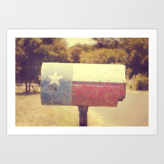 Deep in the heart of texas { You've got mail series 2012} Art Print