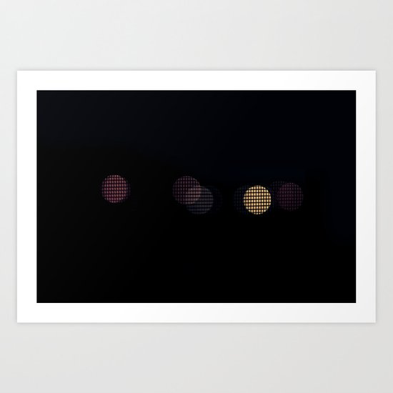 One of Us, One of Them Art Print