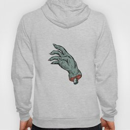 Zombie Monster Hand Drawing Hoody