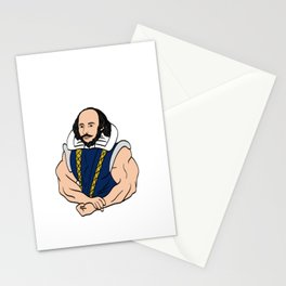 """A Fitness Tee For The Fitted You Or Gym Goer Saying """"Dost Thou Even Hoist Sir?"""" T-shirt Design Stationery Cards"""