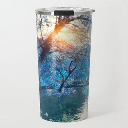 Hope in blue Travel Mug