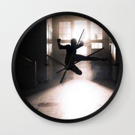 Jump contre jour Wall Clock
