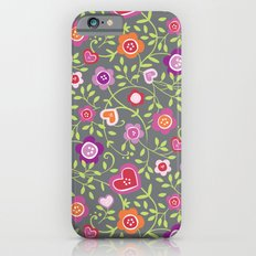 Hearts and Flowers iPhone 6s Slim Case