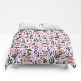 Cute Fennec Fox Pattern Comforters