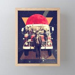 El Camion Framed Mini Art Print