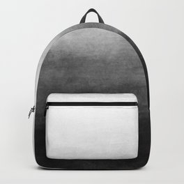 Ombre Paint Color Wash (black/white) Backpack