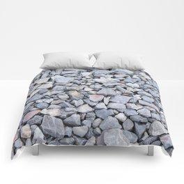 Rocks of the road Comforters