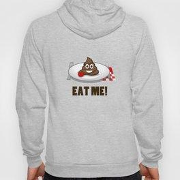 Eat Me Funny Emoji Poop T-Shirt Hoody