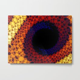 Fractual Eye Metal Print