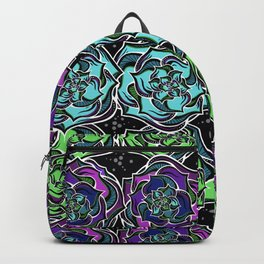 Succulence On Parade Backpack