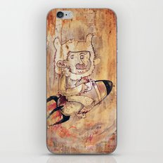 Bunny Rocket iPhone & iPod Skin