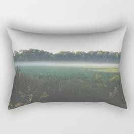 Morning Fog Rectangular Pillow