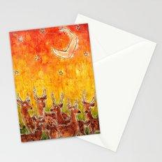 Deer Herd Stationery Cards