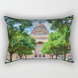Texas State Capital Rectangular Pillow