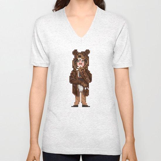 Fur Sure Unisex V-Neck