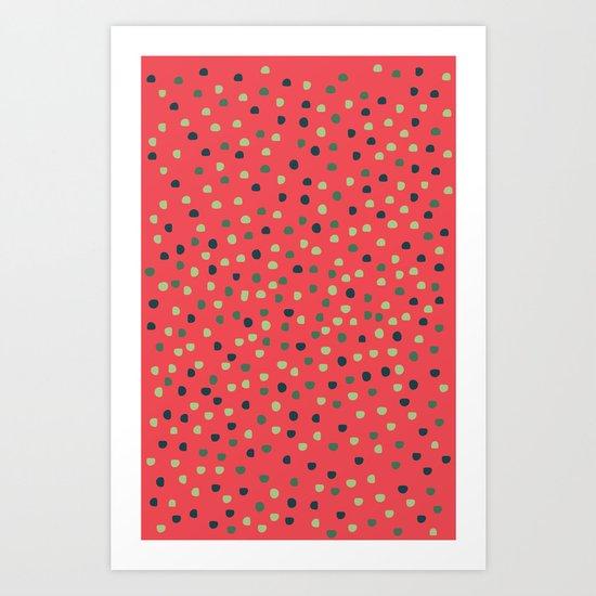 Gums Art Print