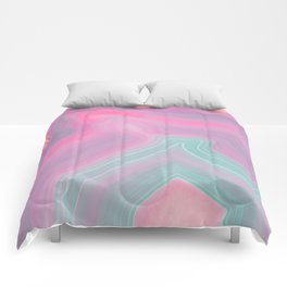 Agate Summer Texture Comforters