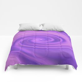 Purple daze 5 Comforters