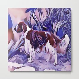Welsh Springer Spaniel Metal Print
