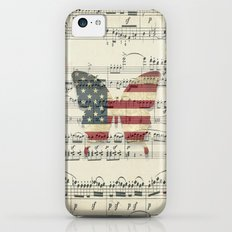 magic butterfly iPhone 5c Slim Case
