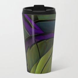 Peacock Green Metal Travel Mug