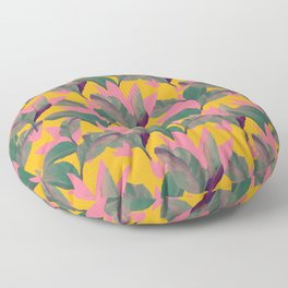 Retro Luxe Lilies Pattern Floor Pillow