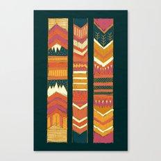 Navii Geometric Tapestry Canvas Print