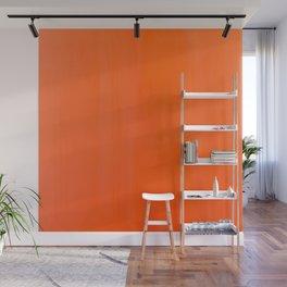 Orange/Coral Ombre Color #decor #society6 #buyart Wall Mural