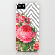 FLORAL CHEVRON iPhone (5, 5s) Slim Case