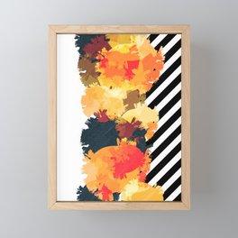 The Fall Patterns #3 Framed Mini Art Print