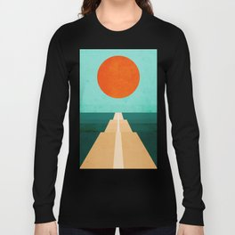The Road Less Traveled Long Sleeve T-shirt