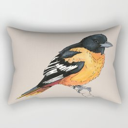Oriole Bird Rectangular Pillow