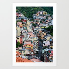 The Beautiful Riomaggiore Art Print