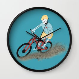 Gnarly Charlie Wall Clock