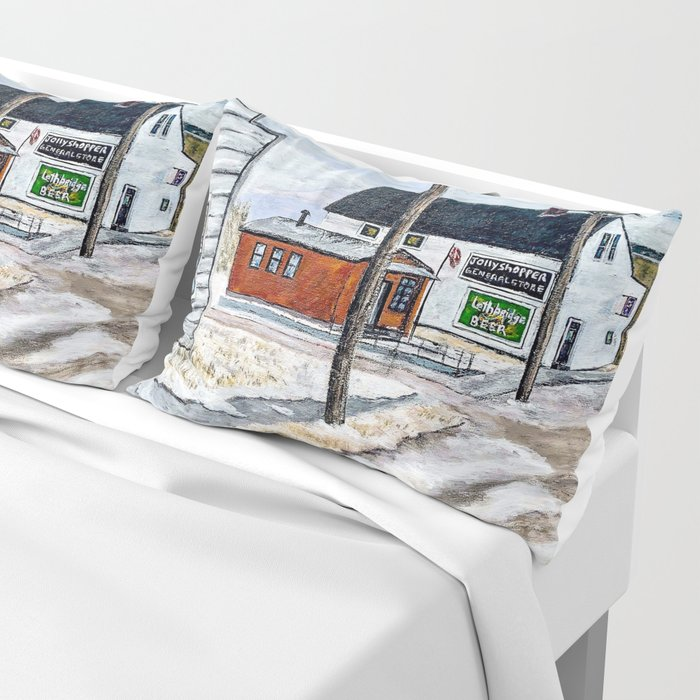 Old Town - Airdrie Ab 1964 Pillow Sham
