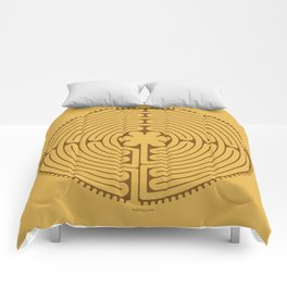 Chartres Labyrinth Comforters