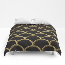 Gatsby deco glam Comforters