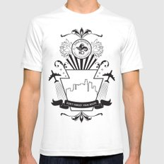 Don't Forget Your Roots (black) Mens Fitted Tee White SMALL