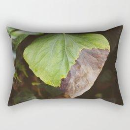 Buddha's Backyard I Rectangular Pillow