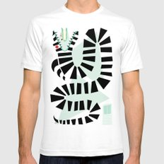 Sandworm White SMALL Mens Fitted Tee