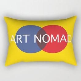 I am an Art Nomad Rectangular Pillow