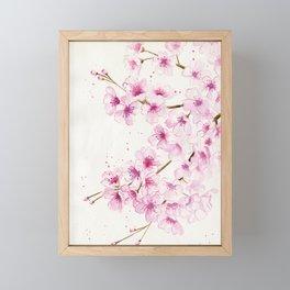 Cherry Blossom Framed Mini Art Print