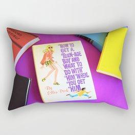How to Get A Teenage Boy Part 2 Rectangular Pillow