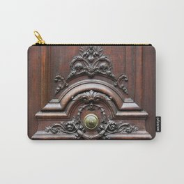 Parisian Chic Carry-All Pouch
