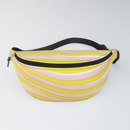 waves at sunrise Fanny Pack