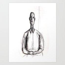 Contemplation Repose Art Print